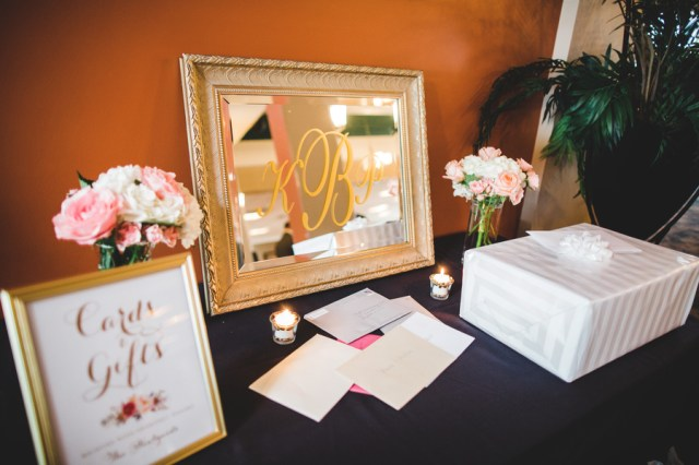 Kate Spade-inspired spring wedding