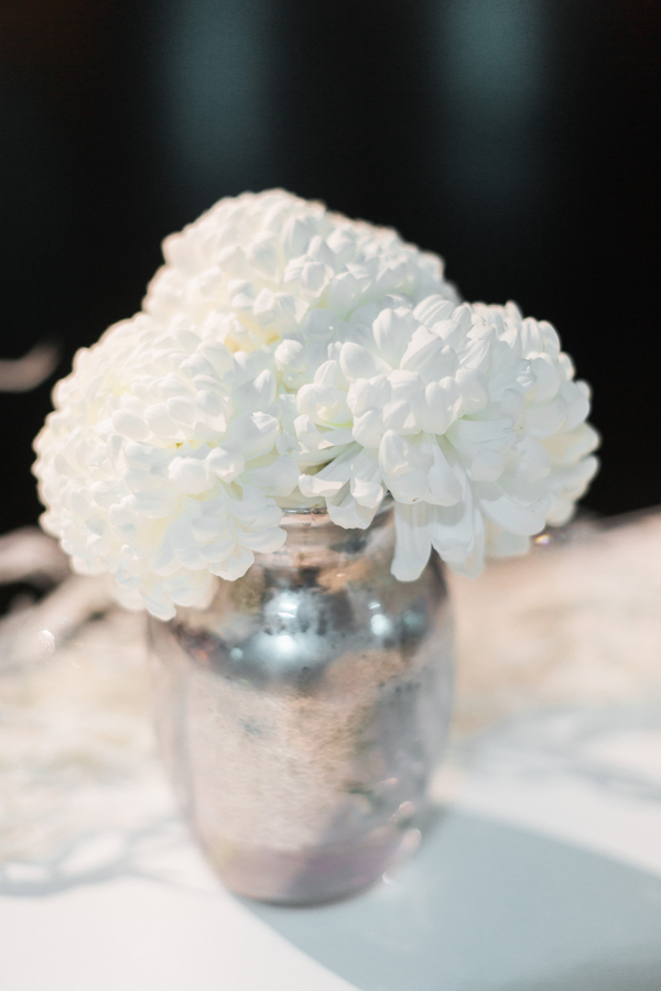elegant white winter wedding