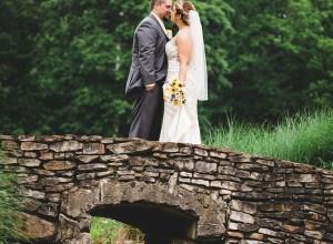 spring countryside wedding
