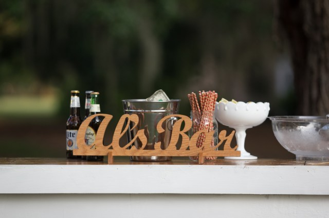 outdoor southern wedding