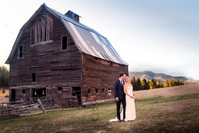 DIY rustic ranch wedding