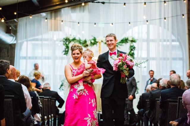perfectly pink wedding