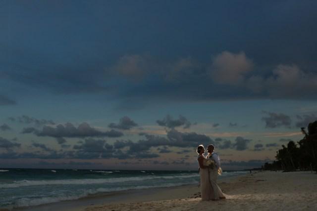 boho chic Tulum beach wedding