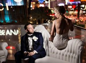 elegant monochromatic wedding