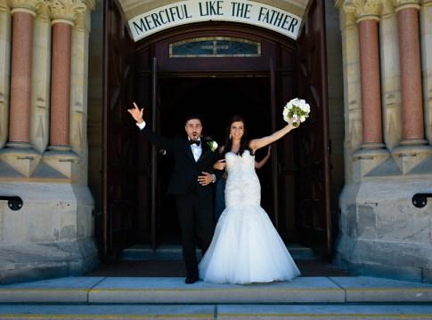elegant sparkly wedding