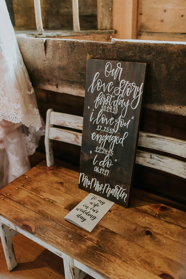 summer rustic barn wedding
