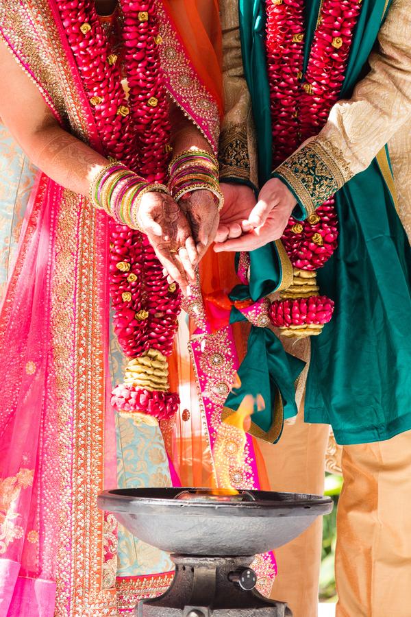 classic Indo-American wedding