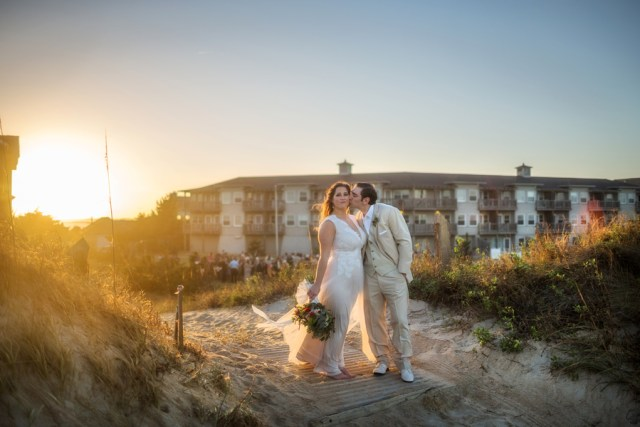 romantic resort wedding