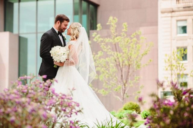 historic ballroom wedding