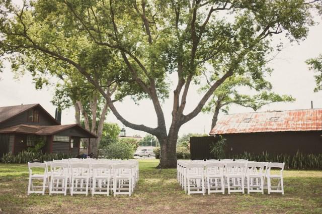 rustic garden wedding