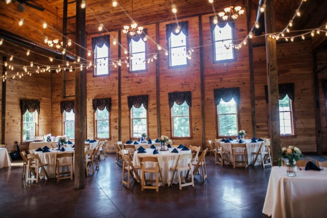 rustic winery wedding