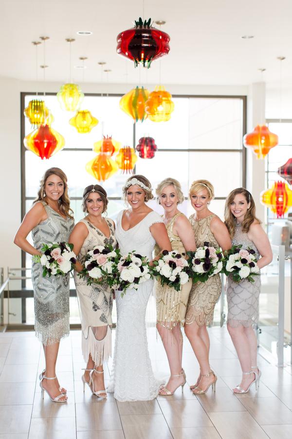 urban Gatsby wedding