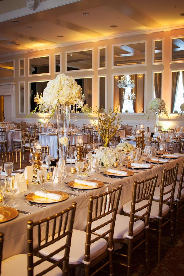 elegant country club wedding