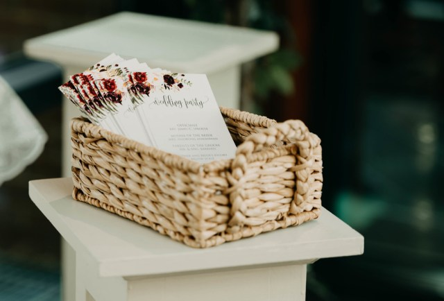 modern boho chic wedding