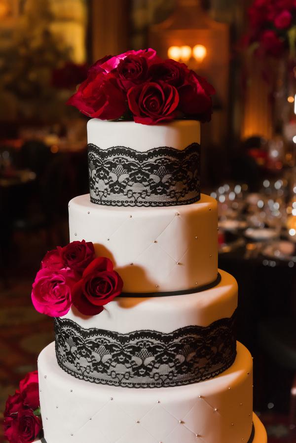 luxurious red wedding