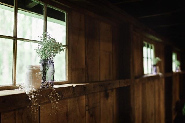 romantic Virginia barn wedding