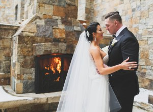 winter Vail wedding
