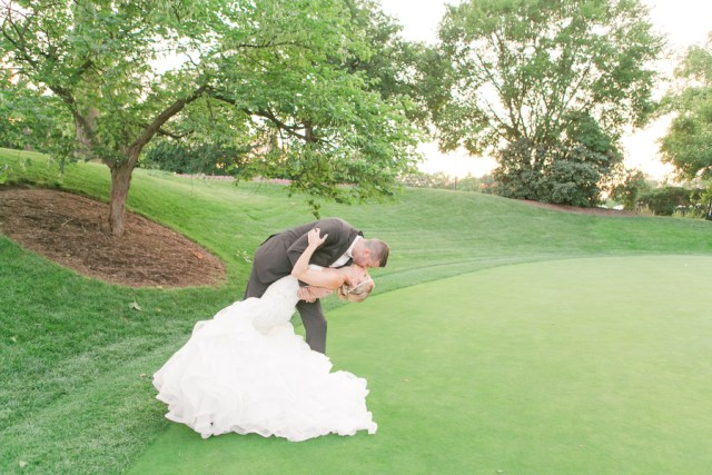 traditional country club wedding
