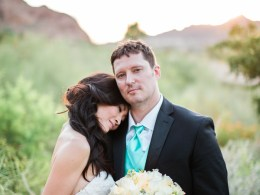 Arizona resort wedding