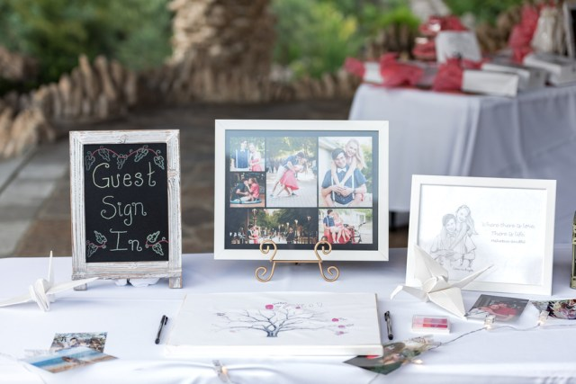 coral garden wedding