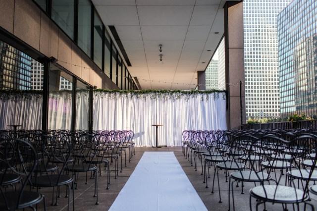 classic Chicago wedding