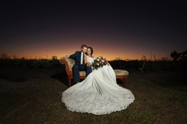 spring farm wedding