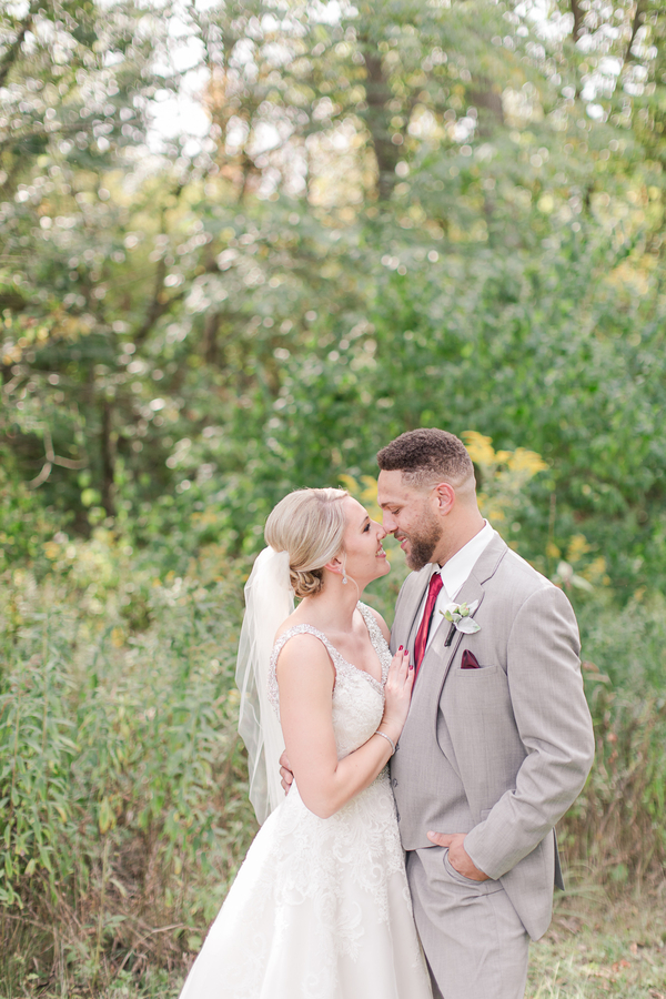 red farm wedding