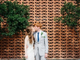 summer hotel wedding