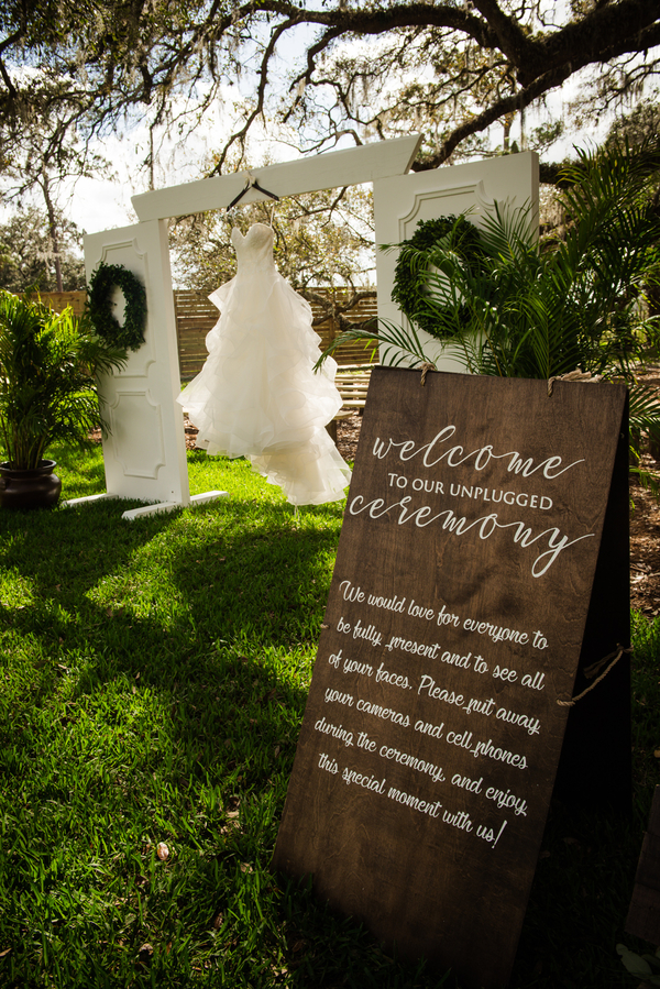 rustic Florida wedding