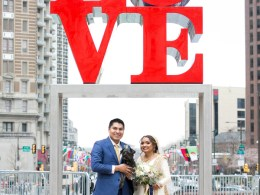 modern Philadelphia wedding