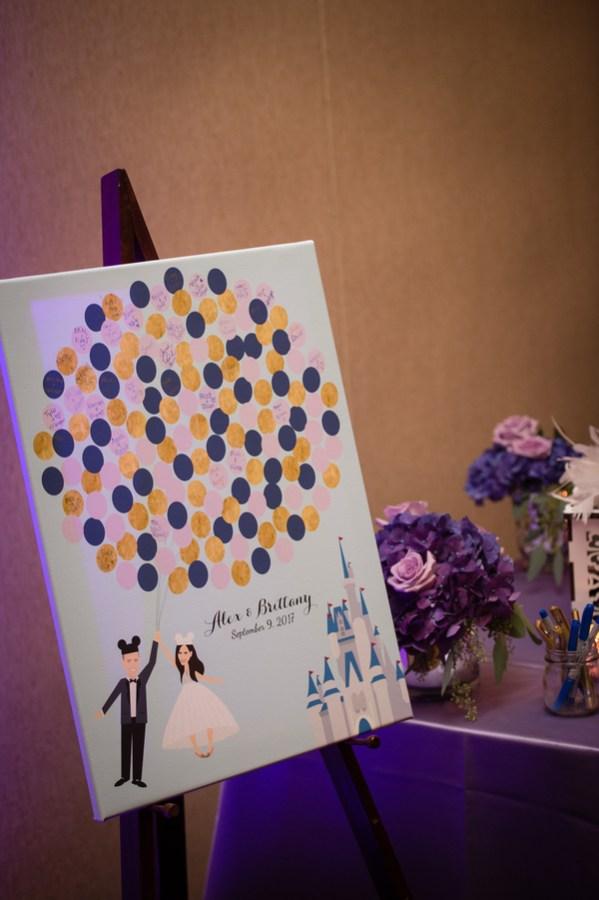 elegant Disney inspired wedding