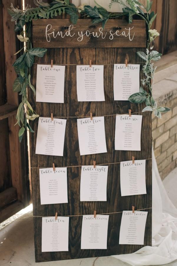 rustic romantic wedding