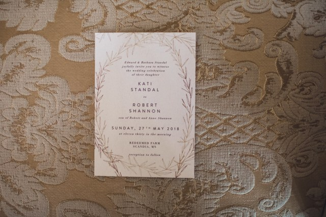 rustic brunch wedding