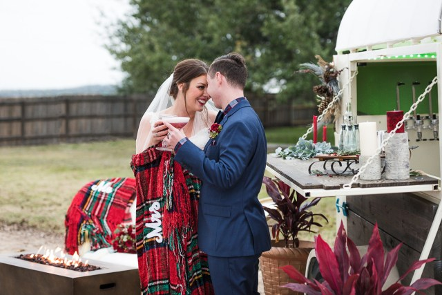 Texas winter wedding