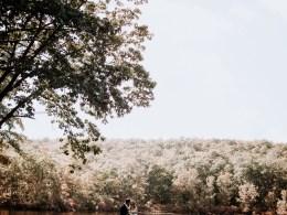 romantic camp wedding
