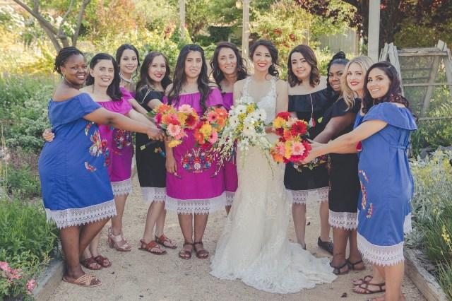 colorful fiesta wedding