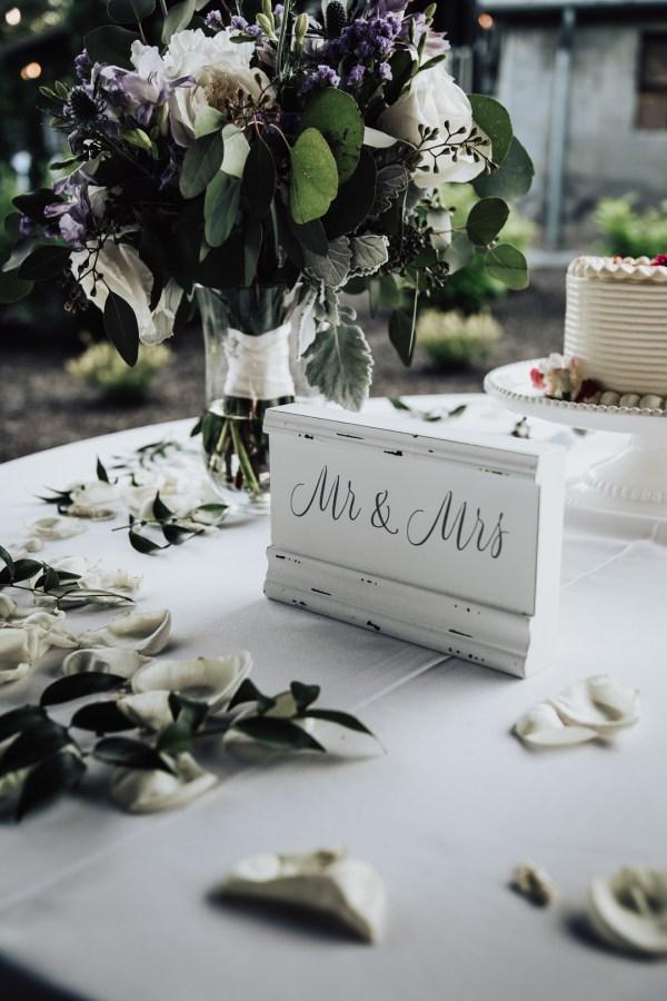 summer garden wedding