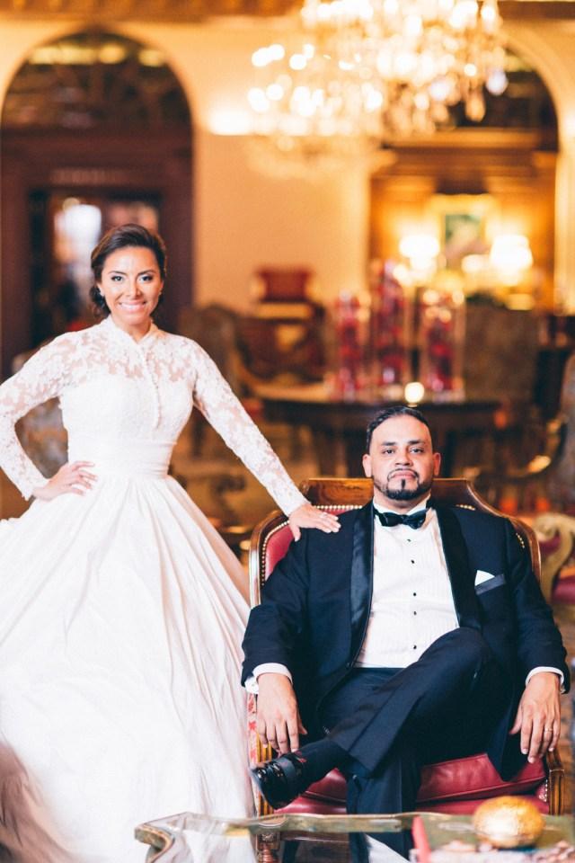 glamorous DC wedding