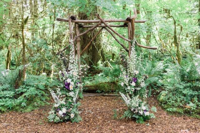 mossy forest wedding