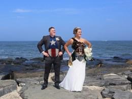nautical superhero wedding