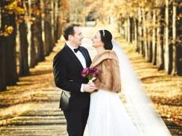 fall woodsy wedding