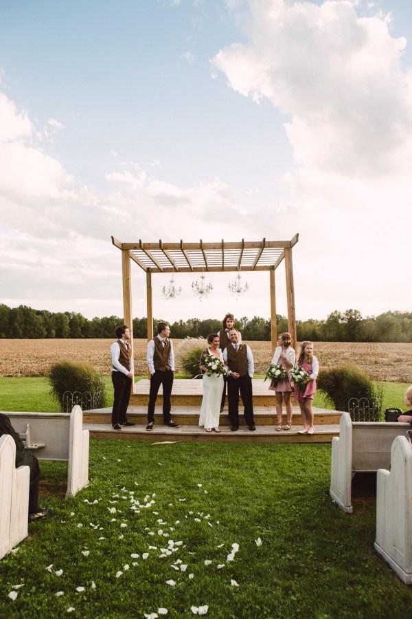 rustic Cincinnati wedding
