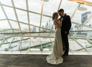 chic urban wedding