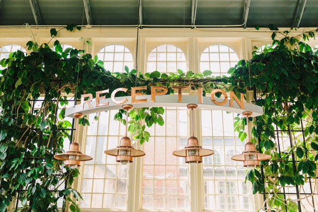 Baltimore conservancy wedding