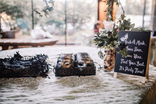 Cleveland Halloween wedding
