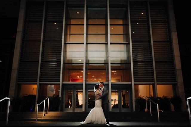 Michigan museum wedding