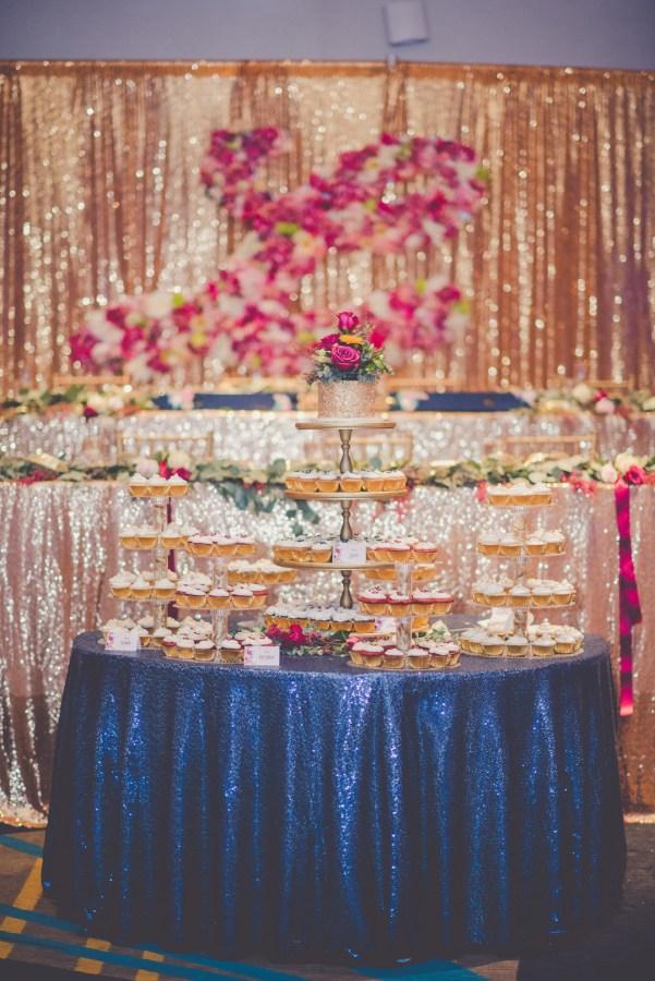 colorful Illinois wedding