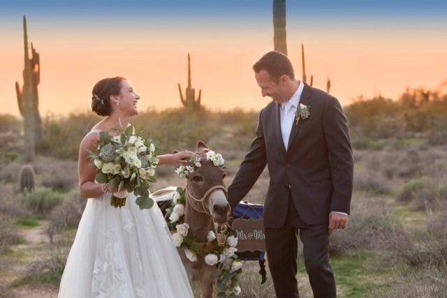 desert barn wedding