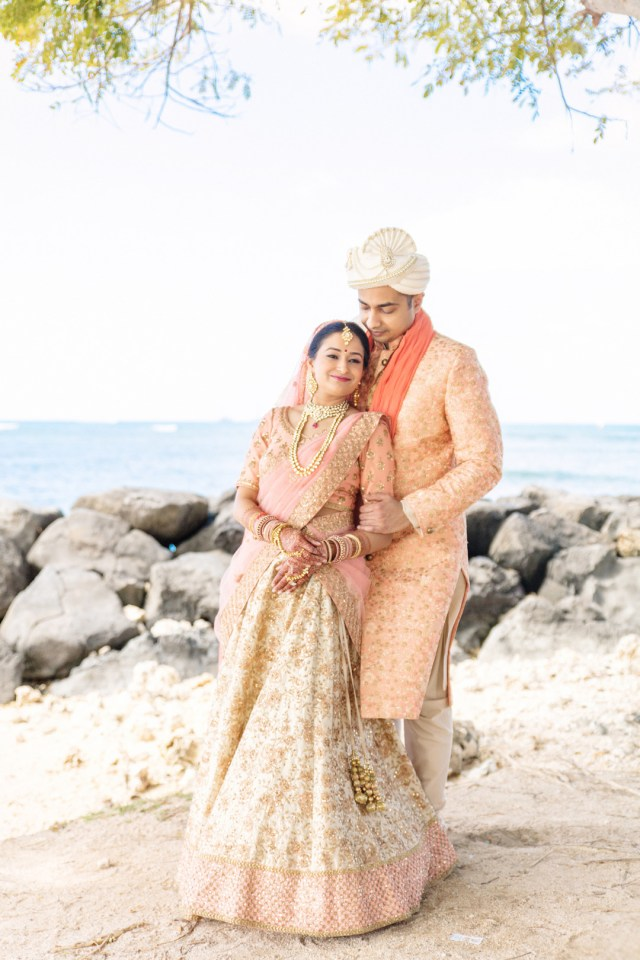 elegant Hawaii wedding