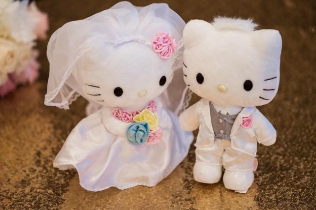 romantic pink wedding